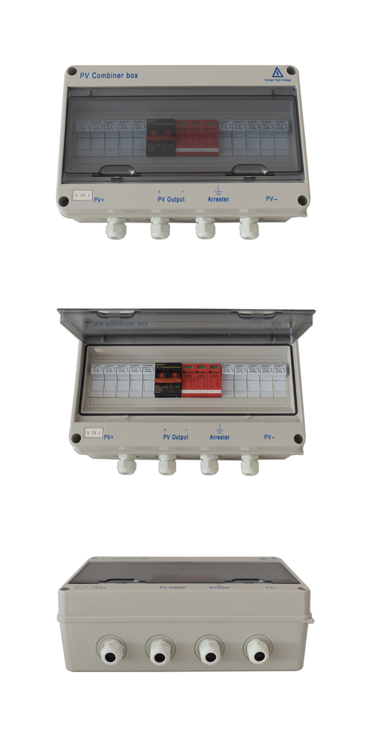 5 In 1 Pv Combiner Box Wind Solar Controller Jinan